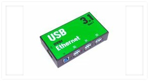 Provides six networked USB 3.1 Type C Gen.1 over Ethernet device ports