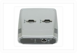 2-Port Serial to Ethernet Serial Device Server (RS-232)