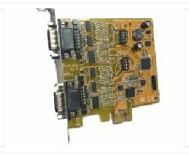 2-Port PCI Express to Serial PCI Express I/O Card (RS-232/422/485)