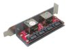 4Bay SATA Enclosure Board for PC Case (to 4 eSATA Host)