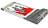 SATA II-150 2Port (eSATA) CardBus PC Card