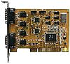 Universal PCI 4COM Serial RS-232 Card