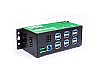 Provides twelve networked USB 3.1 Gen. 1 over Ethernet device ports