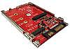 Convert mSATA or M.2 SATA SSD to 2.5 7mm SATA Drive