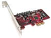 RAID5 SATA II  3Gbps Internal Dual Ports PCI-Express Host (Raid 5, 0, 1,10 &amp; JBOD)