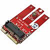 PCIe and USB Base M.2 Wireless Module to miniPCIe Motherboard