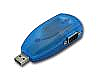 USB to Dual Ports Serial RS-232 (DB-9) Adapter