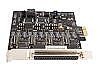 4-Port PCI Express to Serial PCI Express I/O Card (RS-422/485)