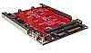 H/W RAID 2x M.2 SATA SSD to 2.5 7mm SATA III SSD
