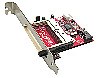 "SATA ג€"" CF Bridge Board with Low Profile PCI Bracket & Regular PCI Bracket"
