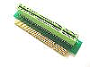 1U 32Bit Single Slot 90-Degree Right Angle PCI Riser Card