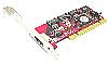 "Raid5 SATA II ג€"" 3Gbps 4Ports (1External eSATA + 3 Internal) Low Profile PCI Host"