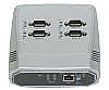 4-Port Serial to Ethernet Serial Device Server (RS-232/422/485)