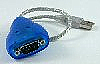 Mini USB to RS-232 Cable Adapter with surge protection